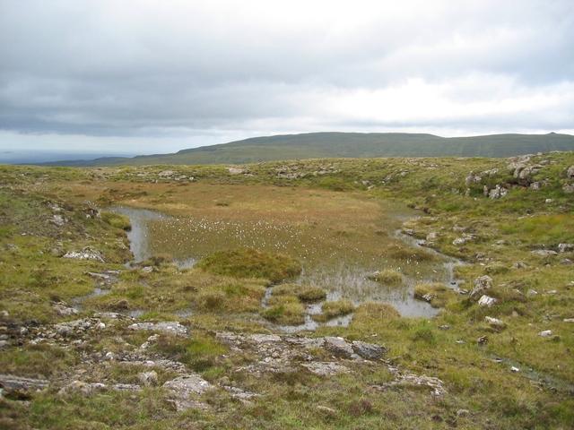 Lochan on Beinn an Righ summit