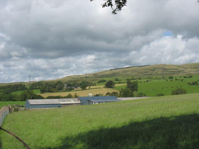 Farm sheds at Tyddyn Felin