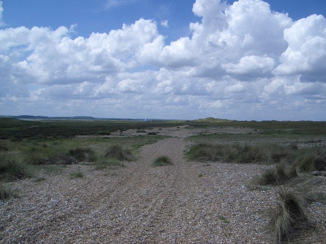 Trackway to Old Lifeboat Station on Blakeney Point