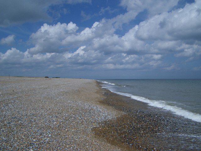 The Shoreline North of The Marrams on Blakeney Point