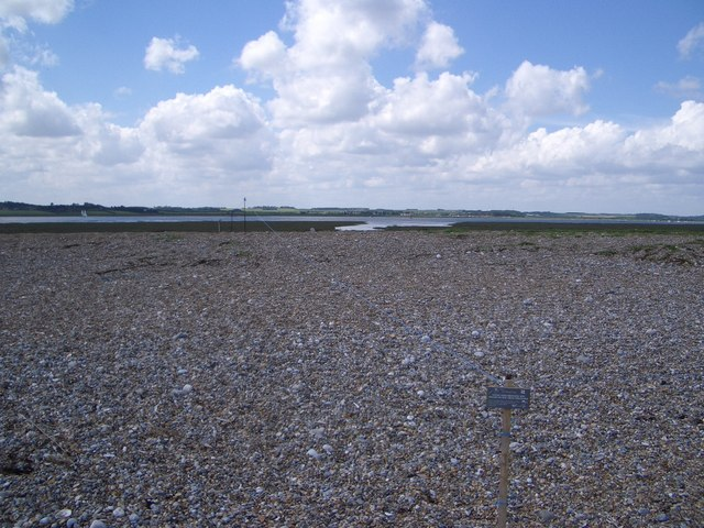 Protected Wildlife Site Along Blakeney point