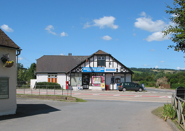 The Post Office and Much Marcle Stores