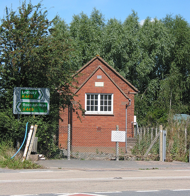 The Telephone Exchange at Much Marcle