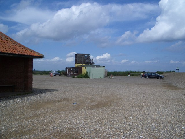 Car Park & Former Cafe at Cley Beach