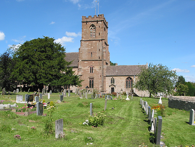 St. Bartholomew's Church, Much Marcle