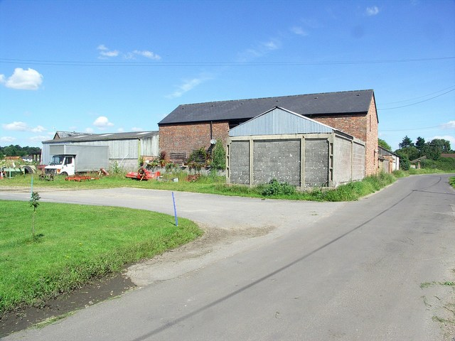 Buildings at Bramble's Farm
