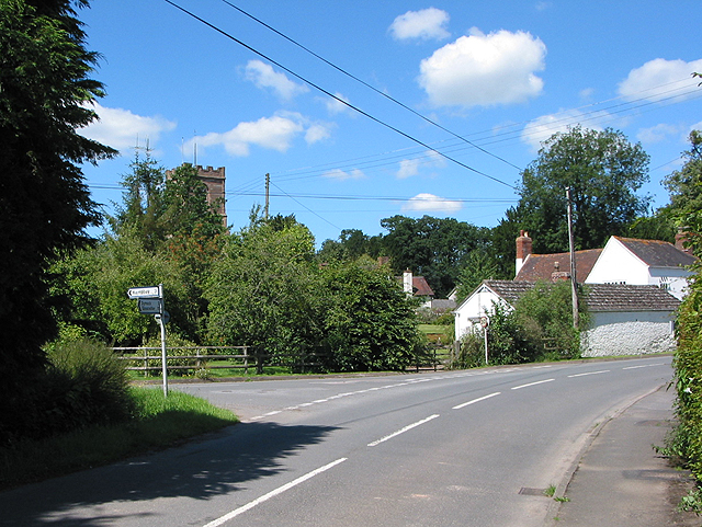 Road to Kempley from Much Marcle