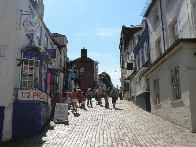Lymington: up Quay Hill