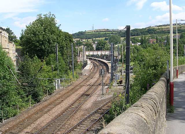 Shipley Station viewed from Station Road