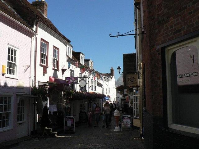 Lymington: Quay Street