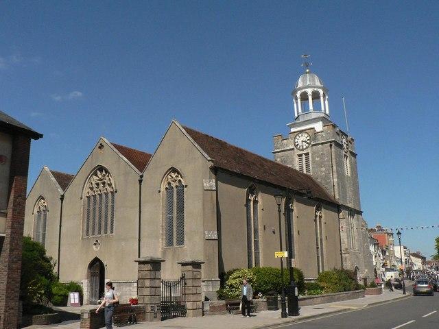 Lymington: parish church of St. Thomas