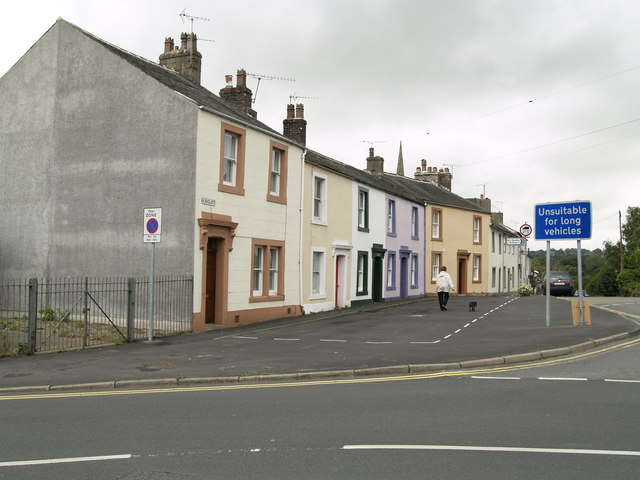 Colourful Cockermouth Houses