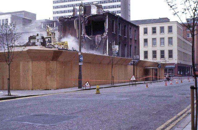 Wellington St/Upper Queen St, Belfast