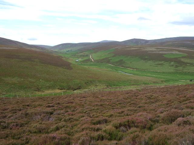 Road up Glen Dye