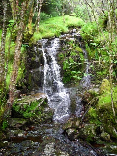 Small Waterfall on Allt nan Slat