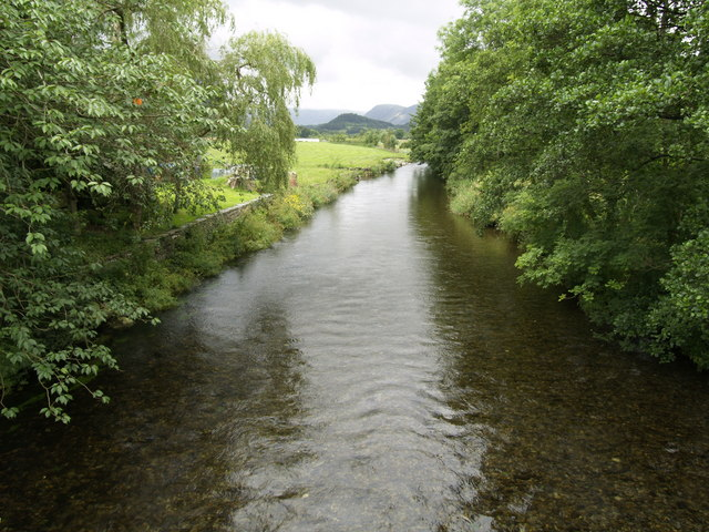 The River Cocker at Low Lorton