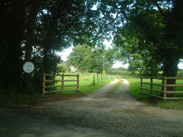 Road to Bagginswood Cottage