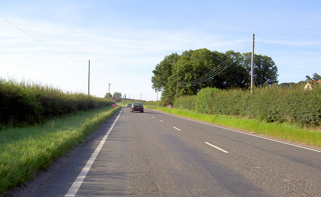 The Great North Road, heading South.