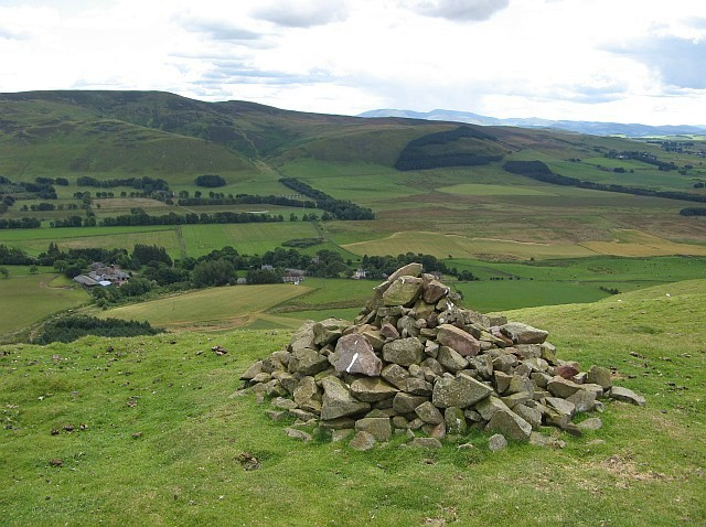 Cairn on Dunsyre Hill