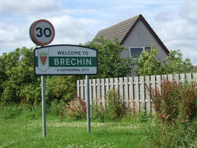 Entry into Brechin