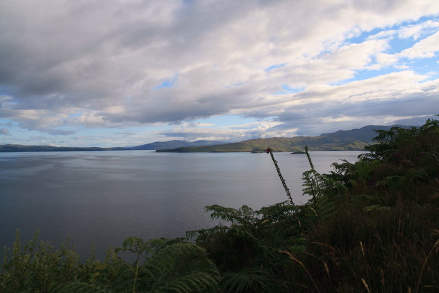 View of Knoydart from Mallaig Bheag