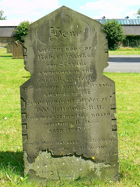 Another untimely death, St Mark's church, Swindon