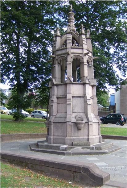 Dalhousie Memorial Fountain