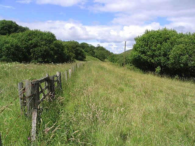 The former Waverley Railway Line