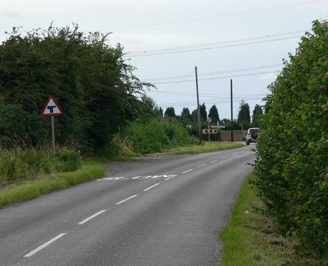 Huncote Road near  Stoney Stanton