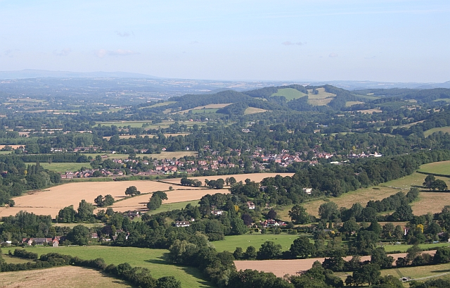 Colwall - Viewed from Herefordshire Beacon