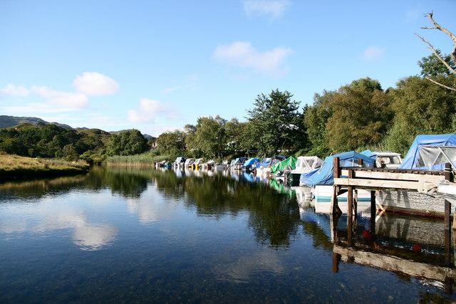 Jetty on River Morar