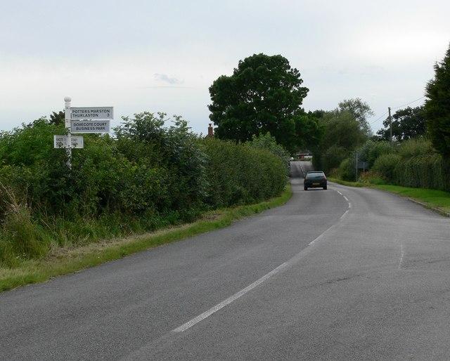 Huncote Road, Potters Marston