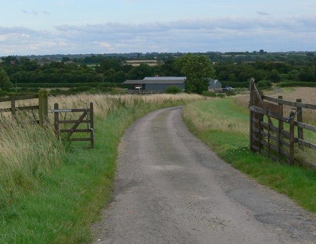 Track to Church Farm