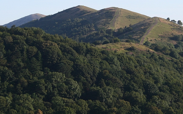 Four Peaks on the Malvern Hills