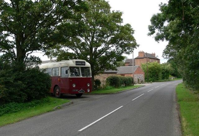 Stanton Lane near Croft