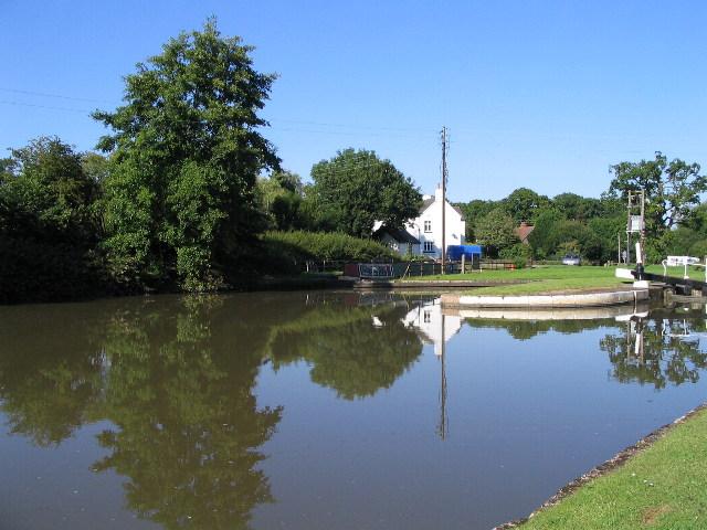 Grand Union canal, Hatton