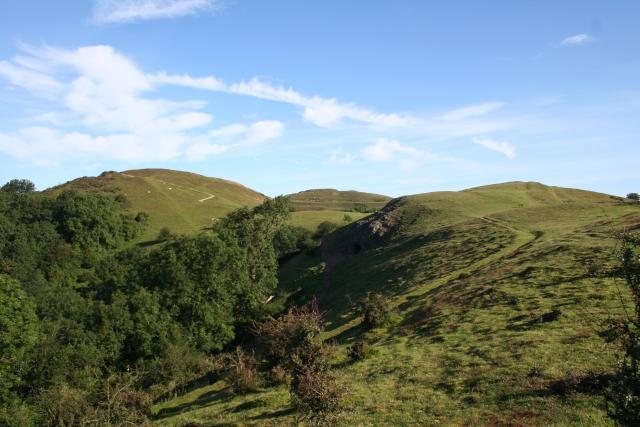 Three Hills on the Malverns