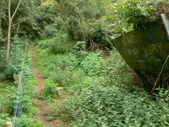 Public Footpath at Croft Hill