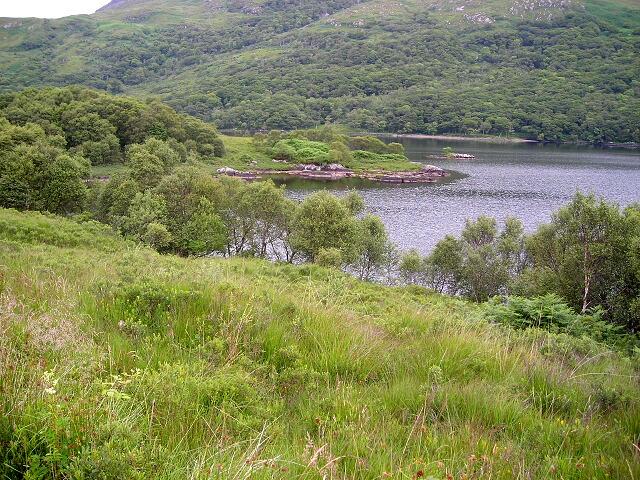 Bay in Loch Arienas