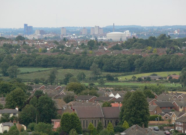 View from Croft Hill