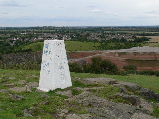 Croft Hill Triangulation Pillar