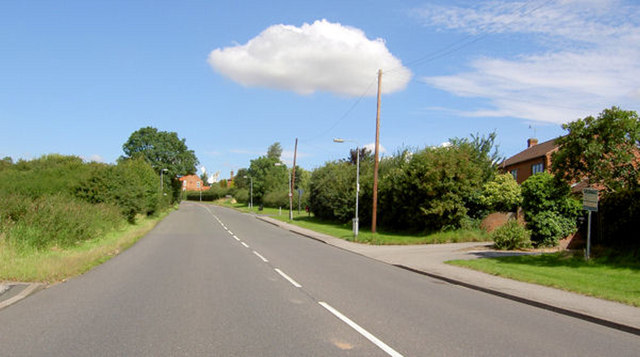 Leaving Tuxford going North.