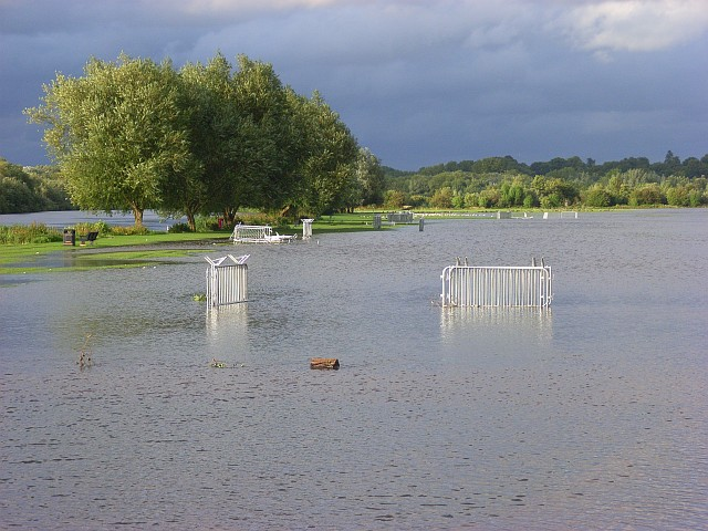 The Thames floodplain near Reading