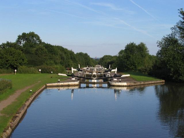 Hatton locks, summer