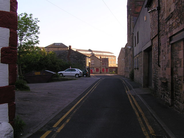 Lancaster Brewery Lane at side of Golden Lion