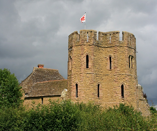 The South Tower, Stokesay Castle