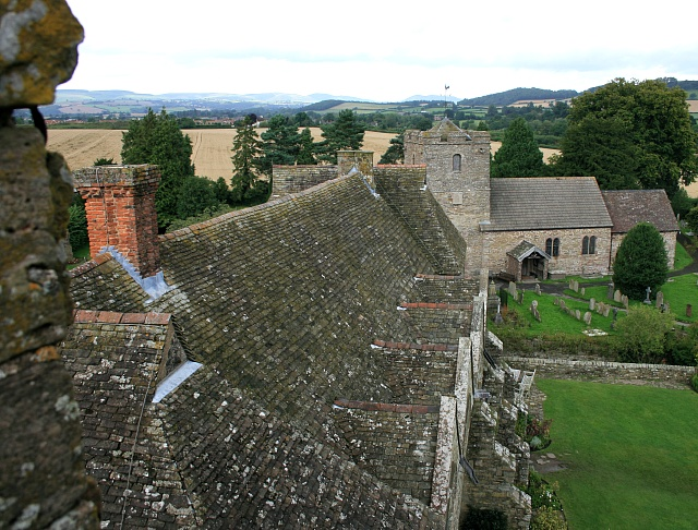 Stokesay roofscape