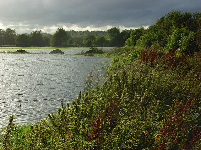 The Thames floodplain near Reading