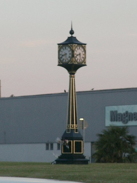 Victoria House Corner Clock Tower