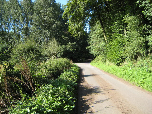 The Lane to Upper Hatton